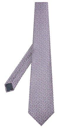 Мужской шелковый галстук LANVIN розового цвета, арт. 2858/TIE | Фото 2