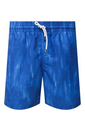 Мужские плавки-шорты DEREK ROSE синего цвета, арт. 9761-MAUI023 | Фото 1