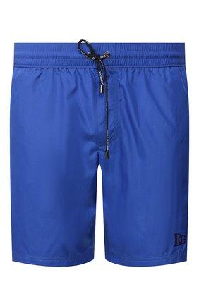 Детского плавки-шорты DOLCE & GABBANA синего цвета, арт. M4A74T/FUSFW | Фото 1