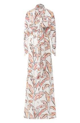 Женское платье-макси ROLAND MOURET разноцветного цвета, арт. PS20/S0879/F0315 | Фото 1