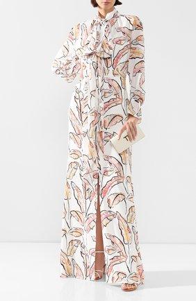 Женское платье-макси ROLAND MOURET разноцветного цвета, арт. PS20/S0879/F0315 | Фото 2