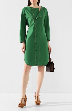 Женское хлопковое платье TELA зеленого цвета, арт. 01 5818 01 9965 | Фото 2