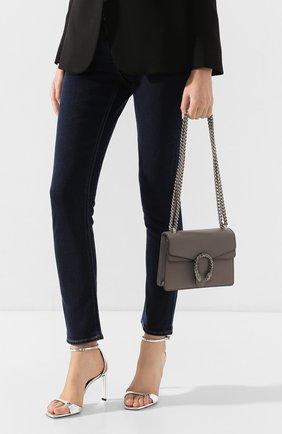 Женская сумка dionysus mini GUCCI серого цвета, арт. 421970/CA0GN | Фото 2