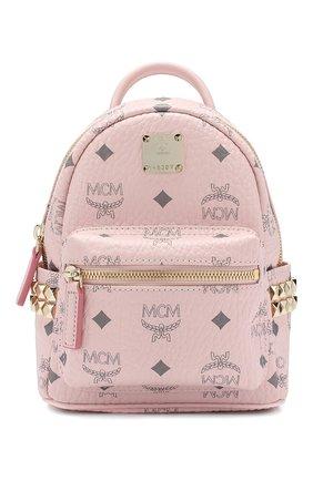 Женский рюкзак stark micro MCM розового цвета, арт. MMK 6SVE92 | Фото 1