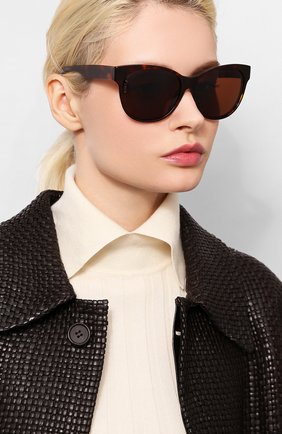 Мужские солнцезащитные очки LORO PIANA коричневого цвета, арт. FAI4929 | Фото 2