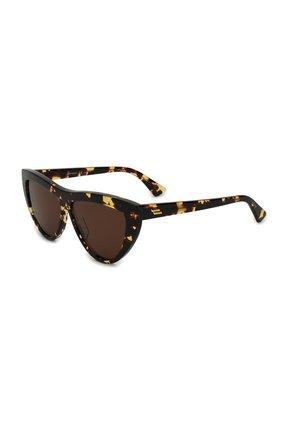 Мужские солнцезащитные очки BOTTEGA VENETA коричневого цвета, арт. BV1018S | Фото 1