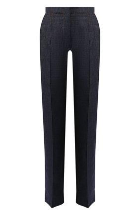 Женские джинсы со стрелками GIORGIO ARMANI темно-синего цвета, арт. 0SHPP0AR/T01IH | Фото 1