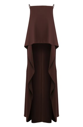 Женская шерстяной топ CULT GAIA коричневого цвета, арт. 53054M04 S0L | Фото 1