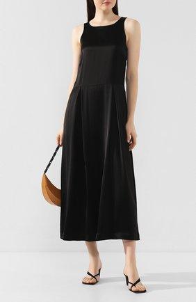 Женское платье из вискозы TWINS FLORENCE черного цвета, арт. TWFPE20ABI0008C | Фото 2