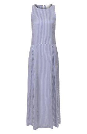 Женское шелковое платье TWINS FLORENCE голубого цвета, арт. TWFPE20ABI0008 | Фото 1