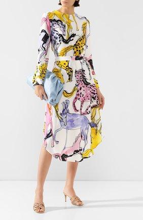 Женская блузка из вискозы STELLA MCCARTNEY разноцветного цвета, арт. 411686/S0A08 | Фото 2