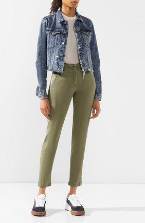 Женские брюки JACOB COHEN хаки цвета, арт. MARINA 00964-S/53 | Фото 2