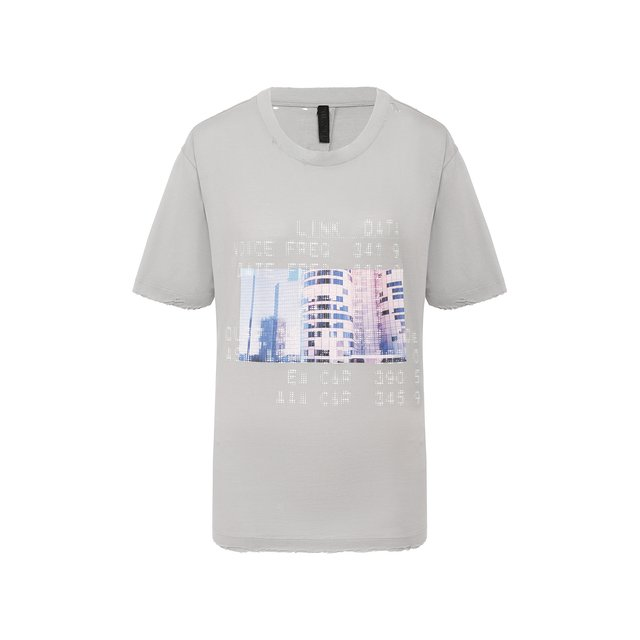 Хлопковая футболка Ben Taverniti Unravel Project