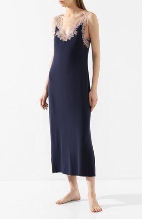 Женская сорочка GIANANTONIO PALADINI синего цвета, арт. S01SC01/L | Фото 2