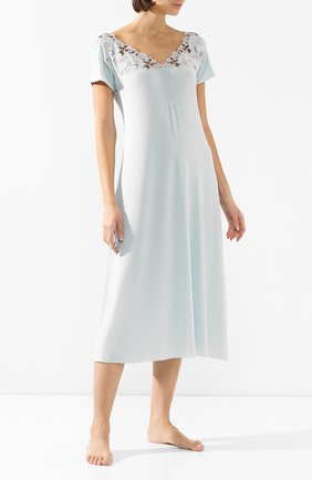 Женская сорочка GIANANTONIO PALADINI голубого цвета, арт. S01VC02/L | Фото 2