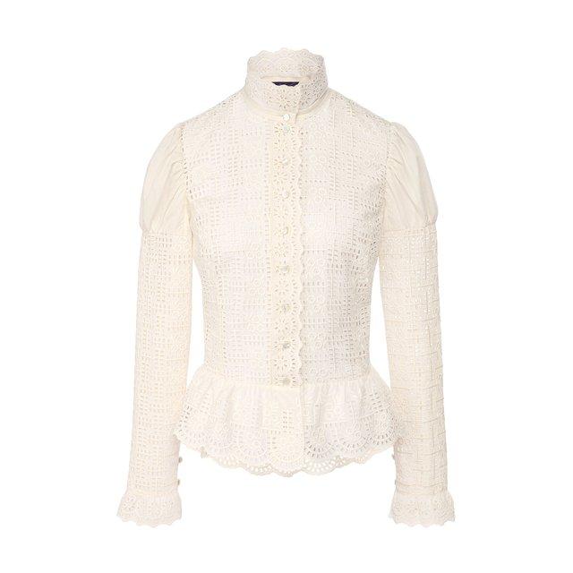 Хлопковая блузка Ralph Lauren