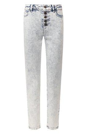 Женские джинсы MICHAEL MICHAEL KORS голубого цвета, арт. MH99CSKD8D | Фото 1