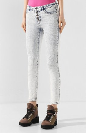Женские джинсы MICHAEL MICHAEL KORS голубого цвета, арт. MH99CSKD8D | Фото 3