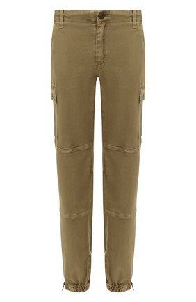 Женские джинсы MICHAEL MICHAEL KORS хаки цвета, арт. MH99CSPD0W   Фото 1