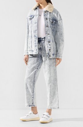 Женские джинсы MICHAEL MICHAEL KORS голубого цвета, арт. MH99CT4D8D | Фото 2