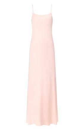 Женское платье-макси ALEXANDERWANG.T розового цвета, арт. 4WC1206004 | Фото 1