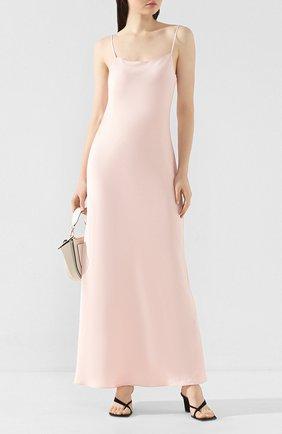Женское платье-макси ALEXANDERWANG.T розового цвета, арт. 4WC1206004 | Фото 2