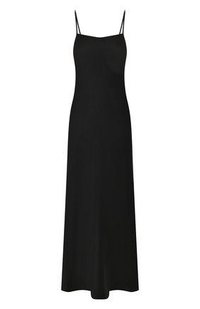 Женское платье-макси ALEXANDERWANG.T черного цвета, арт. 4WC1206004 | Фото 1