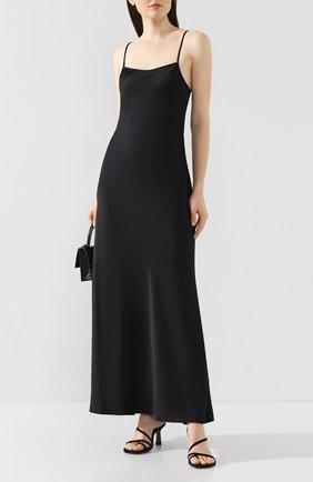 Женское платье-макси ALEXANDERWANG.T черного цвета, арт. 4WC1206004 | Фото 2