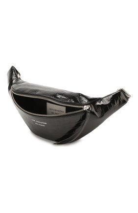 Детская кожаная сумка LES COYOTES DE PARIS черного цвета, арт. 111-43-090 | Фото 2