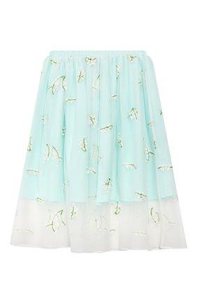 Детская юбка PAADE MODE бирюзового цвета, арт. 20216311/6M-8Y | Фото 2
