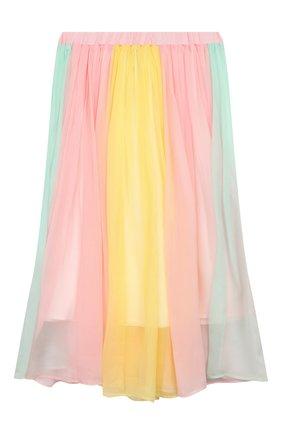 Детская шелковая юбка PAADE MODE разноцветного цвета, арт. 20216602/10Y-16Y | Фото 2