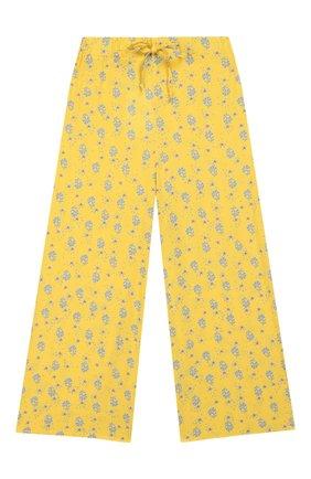 Детского брюки PAADE MODE желтого цвета, арт. 20218102/10Y-16Y | Фото 1