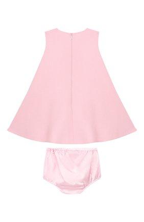 Женский комплект из платья и шорт DOLCE & GABBANA светло-розового цвета, арт. L22DF8/FUBD2 | Фото 2