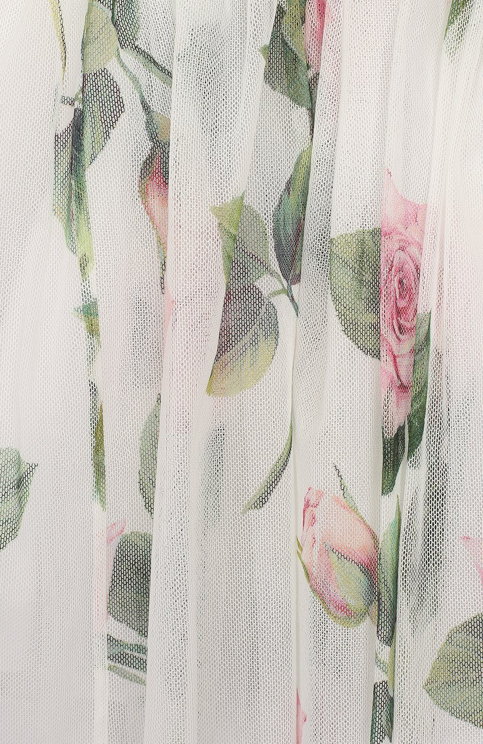 Женская комплект из платья и шорт DOLCE & GABBANA белого цвета, арт. L22DC5/FSEHM   Фото 3