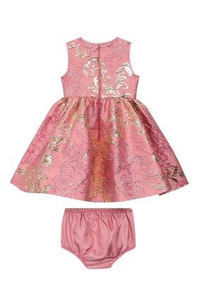 Женский комплект из платья и шорт DOLCE & GABBANA светло-розового цвета, арт. L22DB7/HJMJN | Фото 2