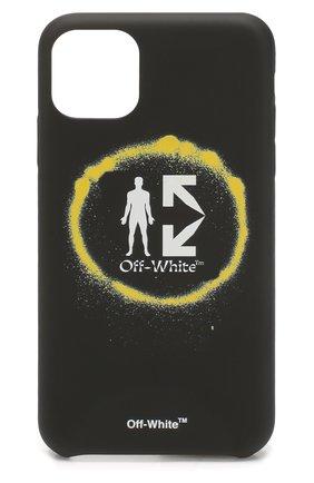 Мужской чехол для iphone 11 pro max OFF-WHITE черного цвета, арт. 0MPA019S202940111088 | Фото 1