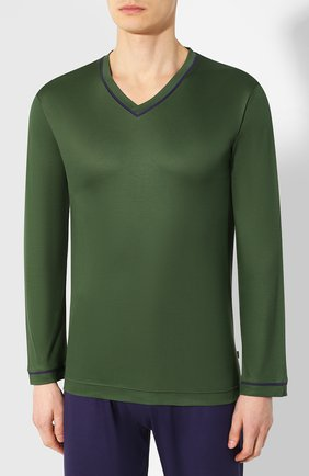 Мужская пижама ZIMMERLI зеленого цвета, арт. 3410-96068 | Фото 2