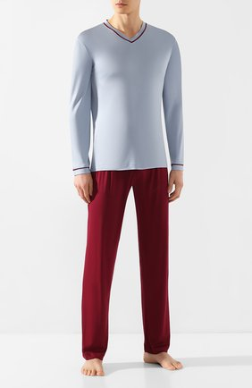 Мужская пижама ZIMMERLI голубого цвета, арт. 3410-96068 | Фото 1