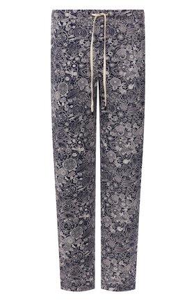 Мужские домашние брюки ZIMMERLI темно-синего цвета, арт. 3408-95621   Фото 1