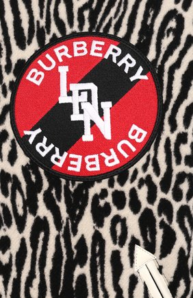 Мужской бомбер BURBERRY черно-белого цвета, арт. 8025114   Фото 5