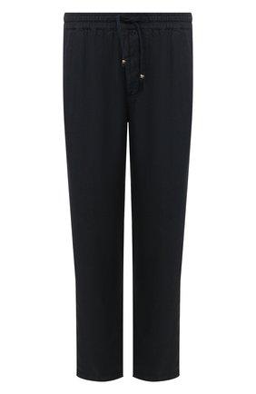 Мужские льняные брюки ALTEA синего цвета, арт. 2053065 | Фото 1