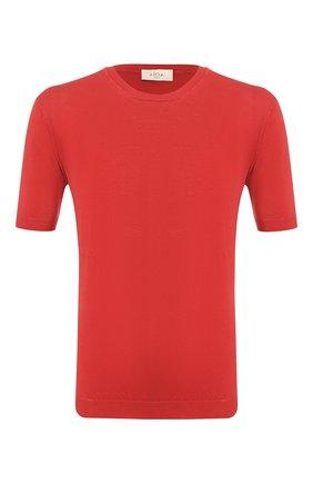 Мужской хлопковый джемпер ALTEA красного цвета, арт. 2051012   Фото 1