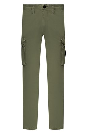 Мужской хлопковые брюки-карго STONE ISLAND хаки цвета, арт. 7215318WA | Фото 1