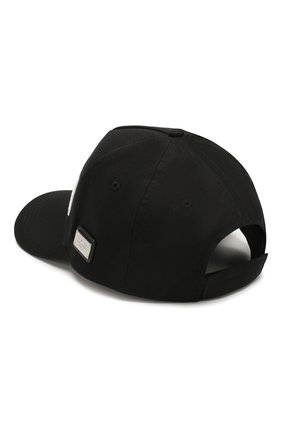 Мужской хлопковая бейсболка PHILIPP PLEIN черного цвета, арт. S20A UAC0022 PTE003N | Фото 2