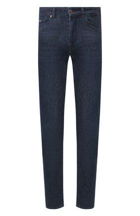 Мужские джинсы BOSS темно-синего цвета, арт. 50426475   Фото 1