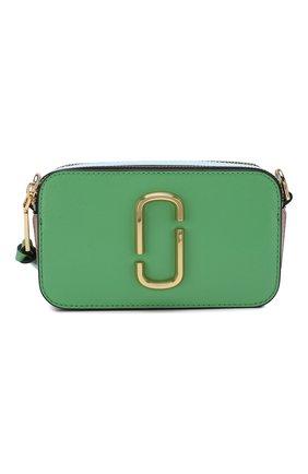 Женская сумка snapshot small MARC JACOBS (THE) зеленого цвета, арт. M0012007 | Фото 1