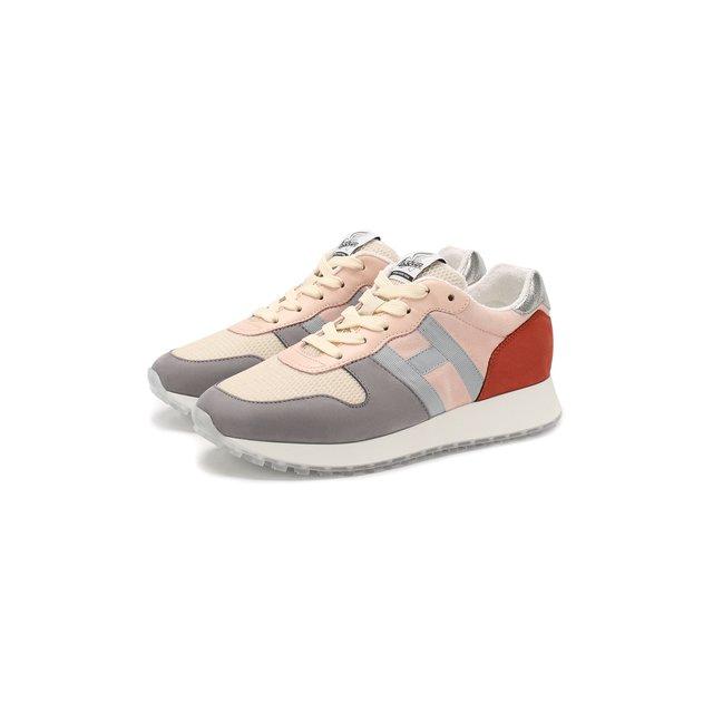 Комбинированные кроссовки Hogan — Комбинированные кроссовки