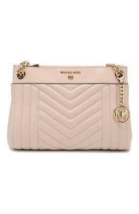 Женская сумка susan small MICHAEL MICHAEL KORS светло-розового цвета, арт. 30H9GUSL1T   Фото 1