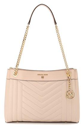 Женская сумка susan medium MICHAEL MICHAEL KORS светло-розового цвета, арт. 30H9GUSL2T   Фото 1