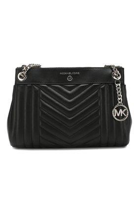 Женская сумка susan small MICHAEL MICHAEL KORS черного цвета, арт. 30H9SUSL1T   Фото 1